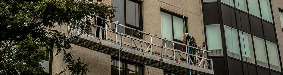 Window cleaning for hard to reach places